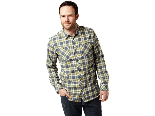 Craghoppers Andreas Longsleeve Shirt Herren ombre blue combo checkered